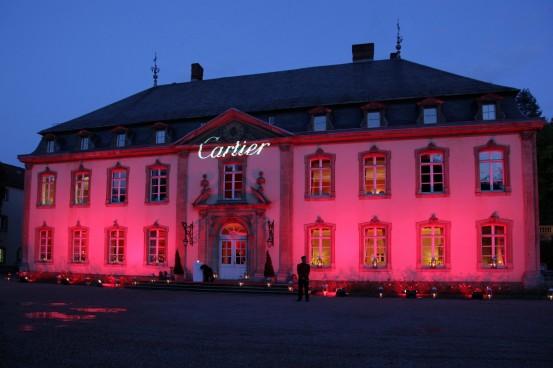 Soirée CARTIER au Château de Septfontaine