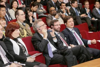 RNB Forum 2014 - Pierre Gramegna, Grand-Duc Héritier, Nicolas Mackel